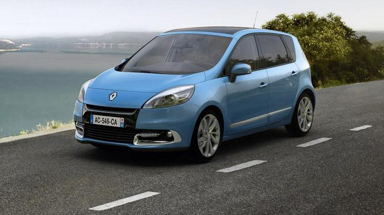 2012 renault scenic and grand scenic new facelift revealed. Black Bedroom Furniture Sets. Home Design Ideas