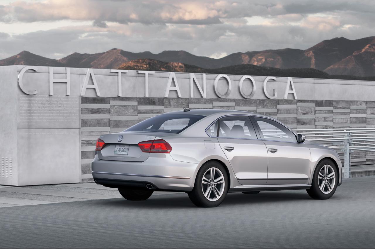 2012 Volkswagen Passat A Bigger Size For North America