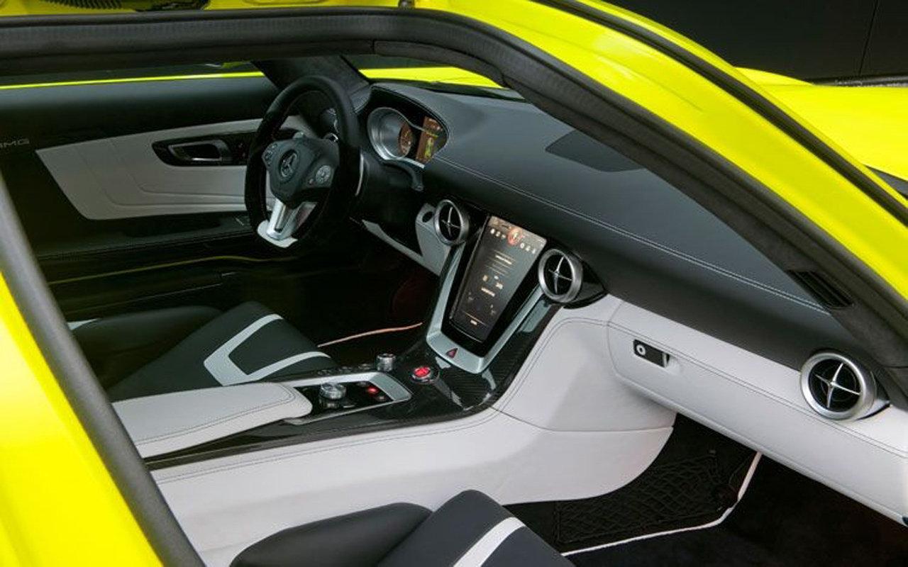 2013 MERCEDES-BENZ SLS AMG E-