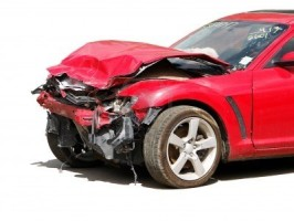 car accident front