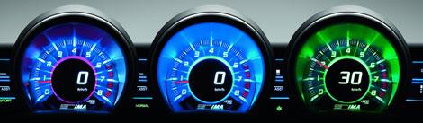 Honda CRZ Digital Dashboard
