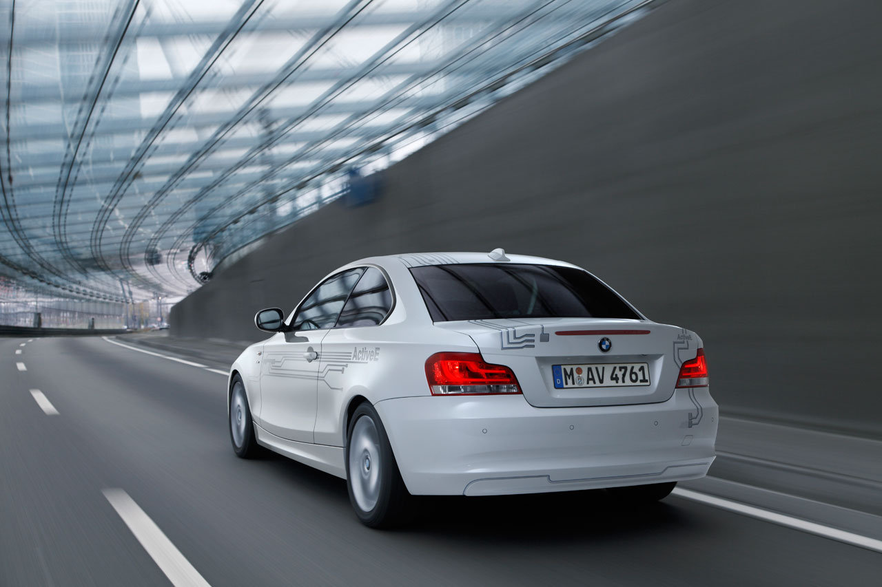 BMW ActiveE concept ready to go