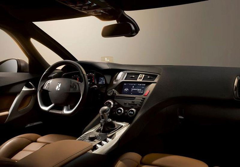 Citroen DS5 photos showing luxury interior leaked