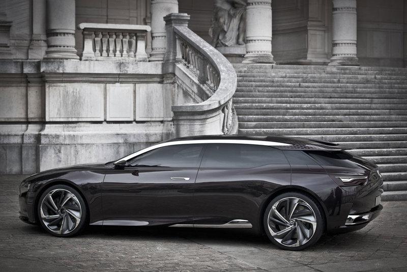 citroen numero 9 ds9 concept car anticipates future ds models. Black Bedroom Furniture Sets. Home Design Ideas