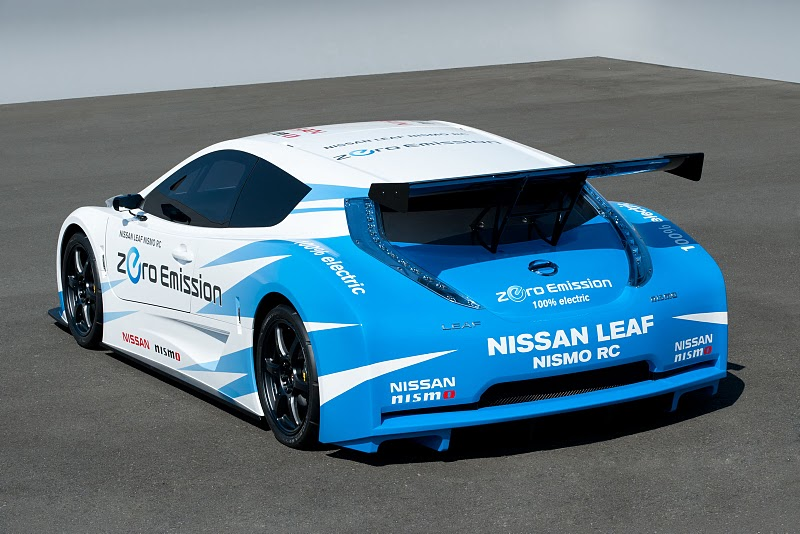 Nissan Leaf Nismo Rc A Racing Electric Car
