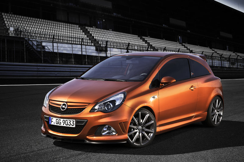 opel corsa opc nurburgring edition with 210 hp. Black Bedroom Furniture Sets. Home Design Ideas