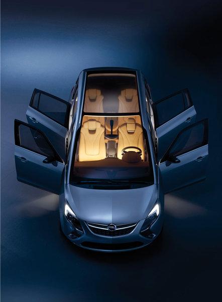 Opel Vauxhall Zafira Tourer Concept