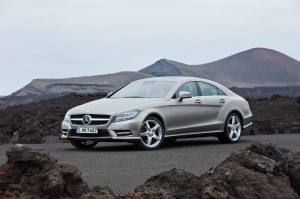 Official Photo 2012 Mercedes CLS