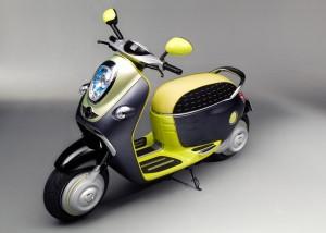 picture mini scooter e concept
