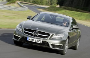 official photo 2012 mercedes CLS63 amg